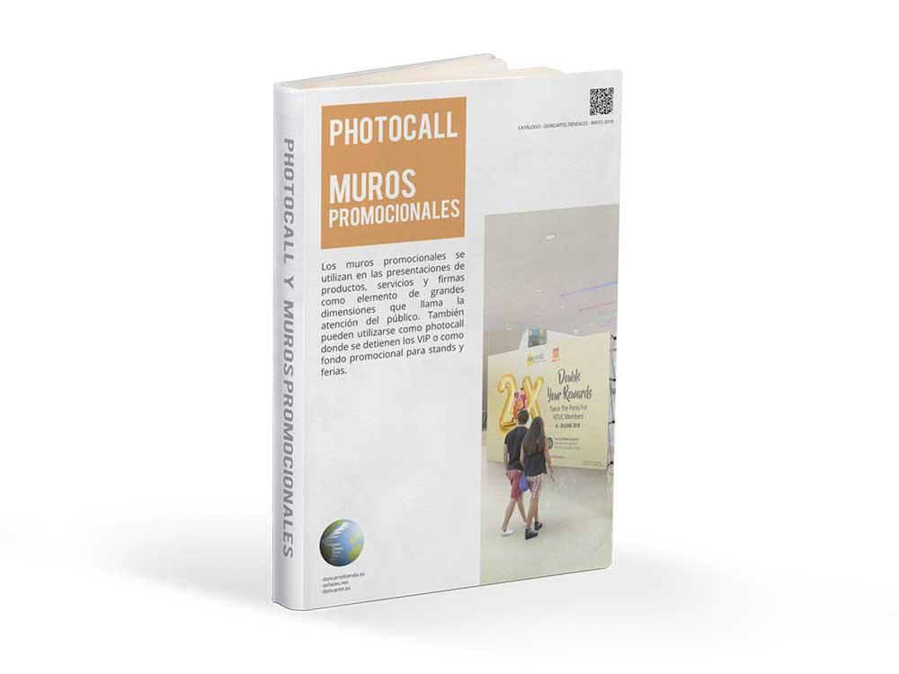 Photocall Muros Promocionales