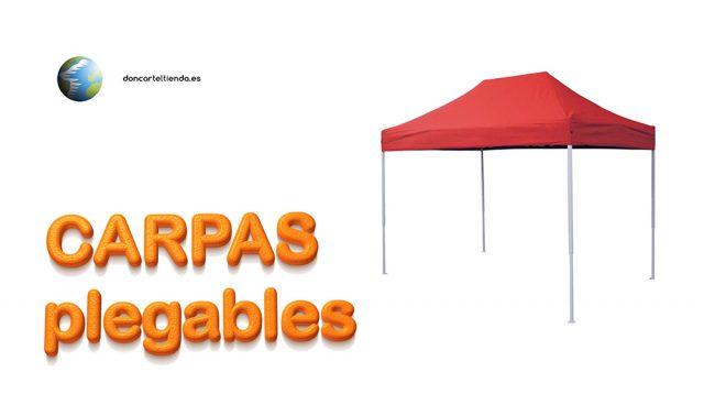 Carpas plegables video 2019