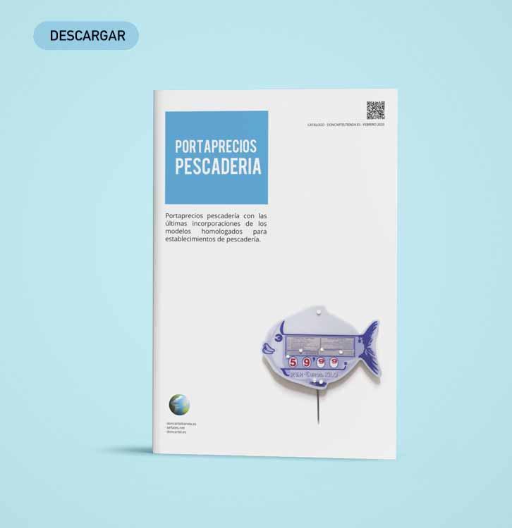 descargar catálogo portaprecios pescadería 2020