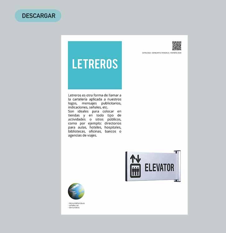 descargar catálogo letreros 2020