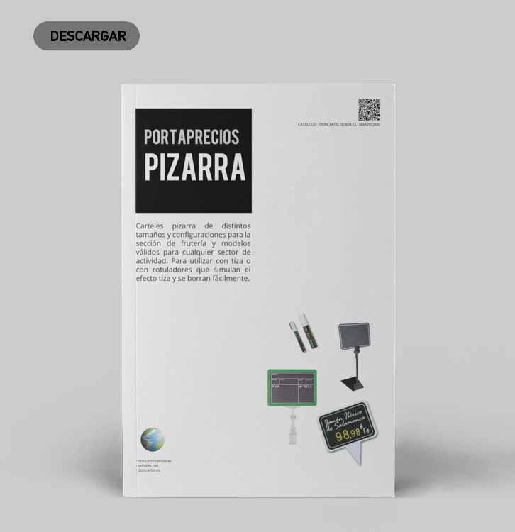 descargar catálogo portaprecios pizarra 2020