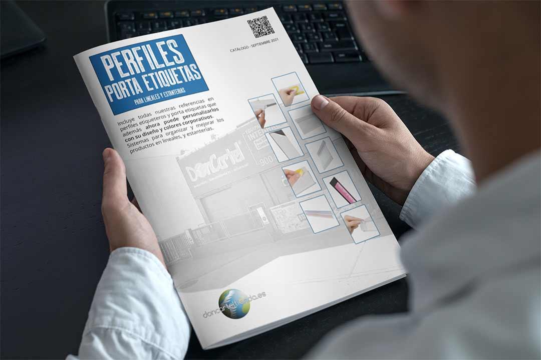 Portaetiquetas y perfiles catálogo 2021