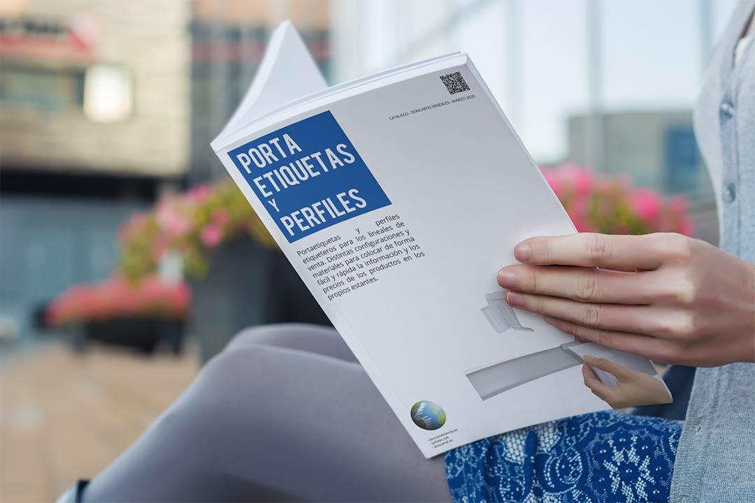 Portaetiquetas y perfiles catálogo 2020