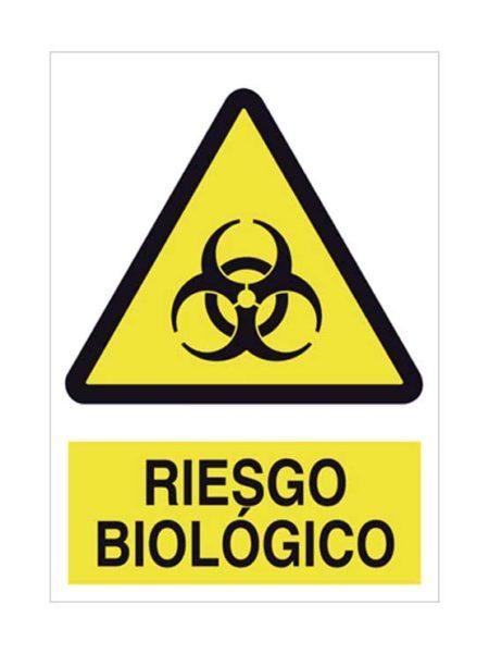Cartel riesgo biológico