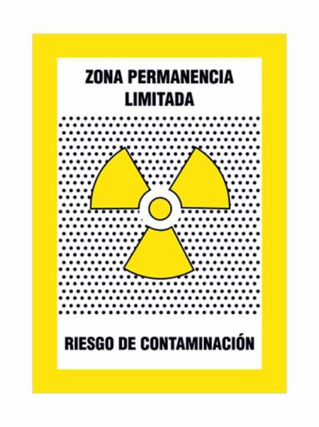 Cartel zona permanencia limitada