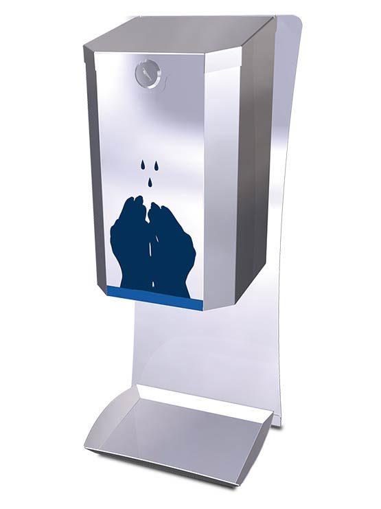 Esterilizador de manos automático, dispensador de gel hidroalcohólico