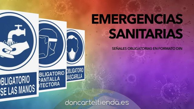 Emergencias sanitarias carteles