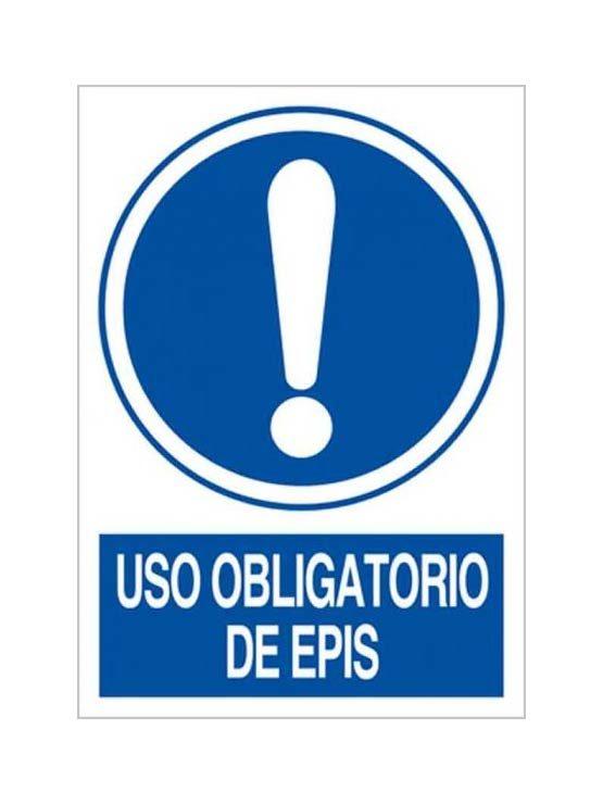 Cartel uso obligatorio de epis