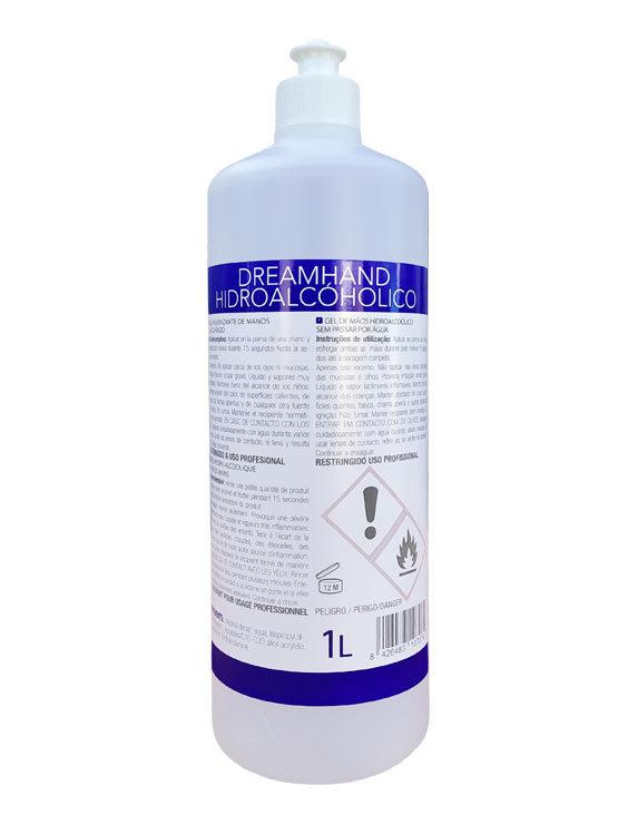 Gel Hidroalcohólico 1 litro formulado higienizante