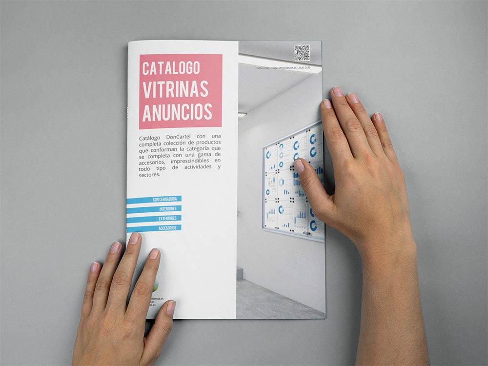 Vitrinas anuncios catálogo 2020