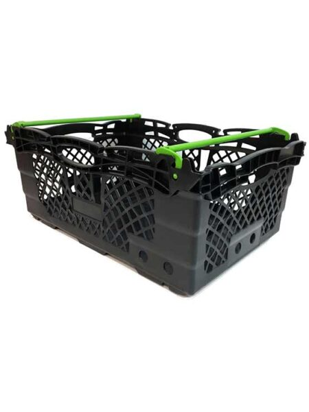 Cajas apilables de plástico