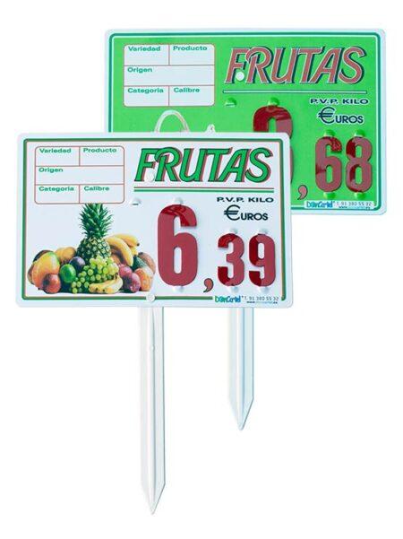 Cartel fruta Haway
