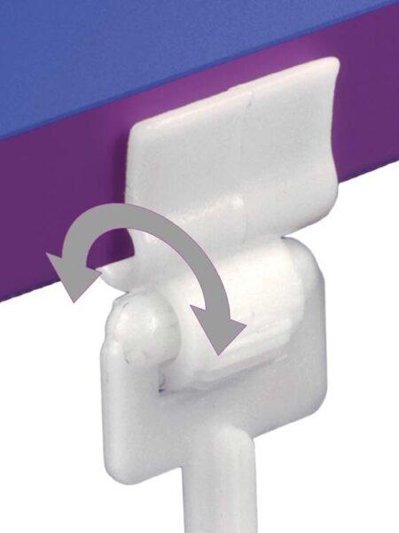 Clip para PortaPrecios Peana Pinza (20 unidades)