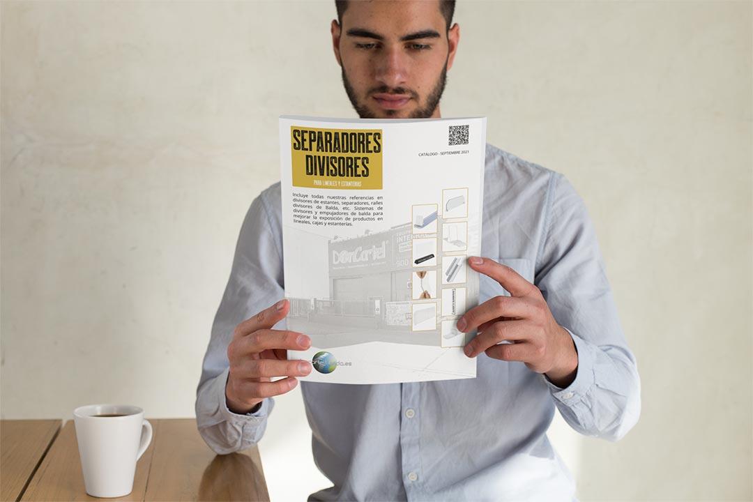 Separadores y Divisores de Balda Catálogo